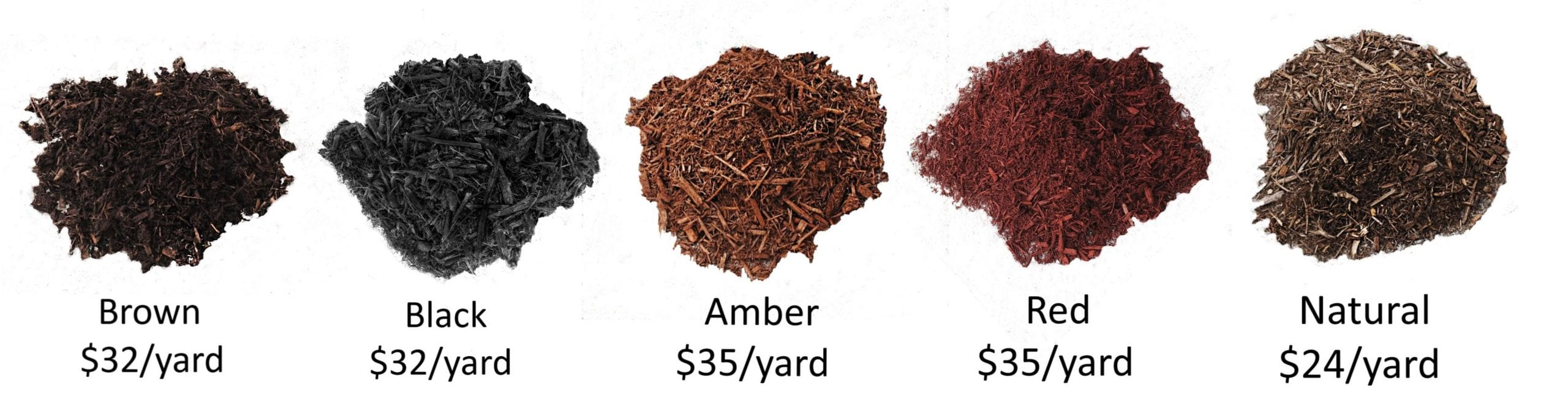 Mulch Color & Prices