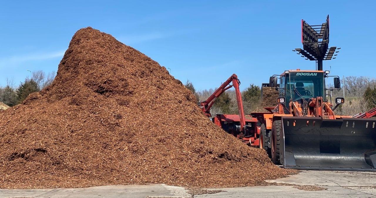 Where to put mulch