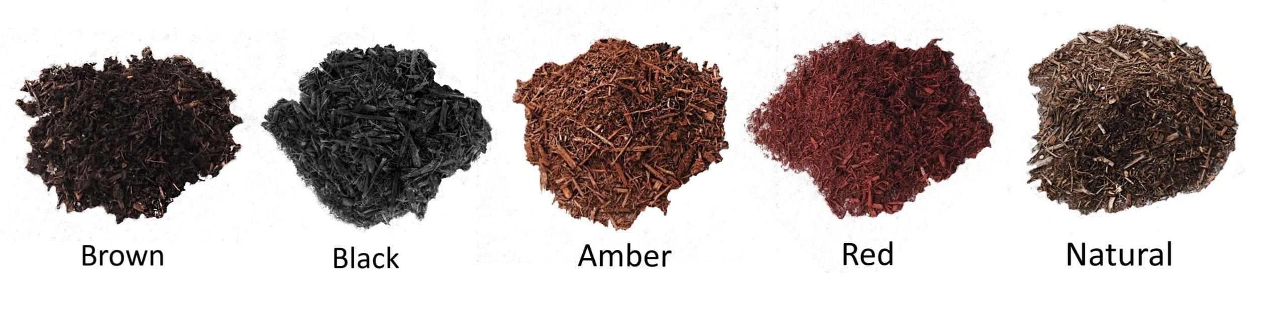 mulch color